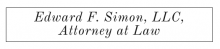 Edward F. Simon, LLC Attorney at Law